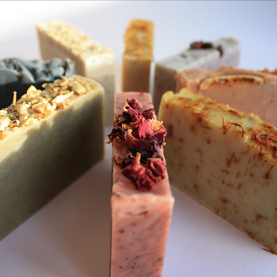 Manufacture of handmade natural cold process soaps