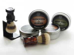 Shaving Soap with pure natural ingredients & made in Ireland