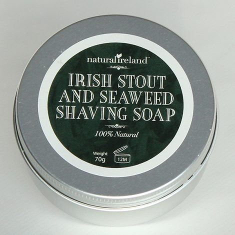 Luxury Irish Stout & Seaweed Shaving  Soap