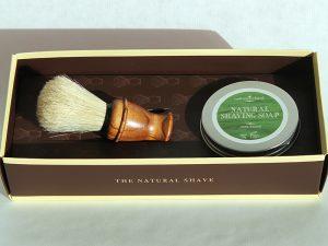 For Christmas – Natural Shaving Gift Set – Natural Ireland