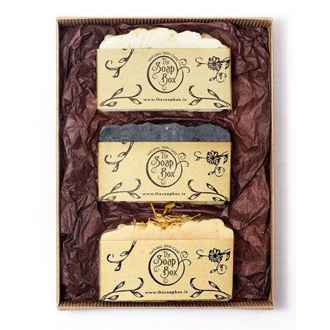 Luxurious 3 Soap Gift Set