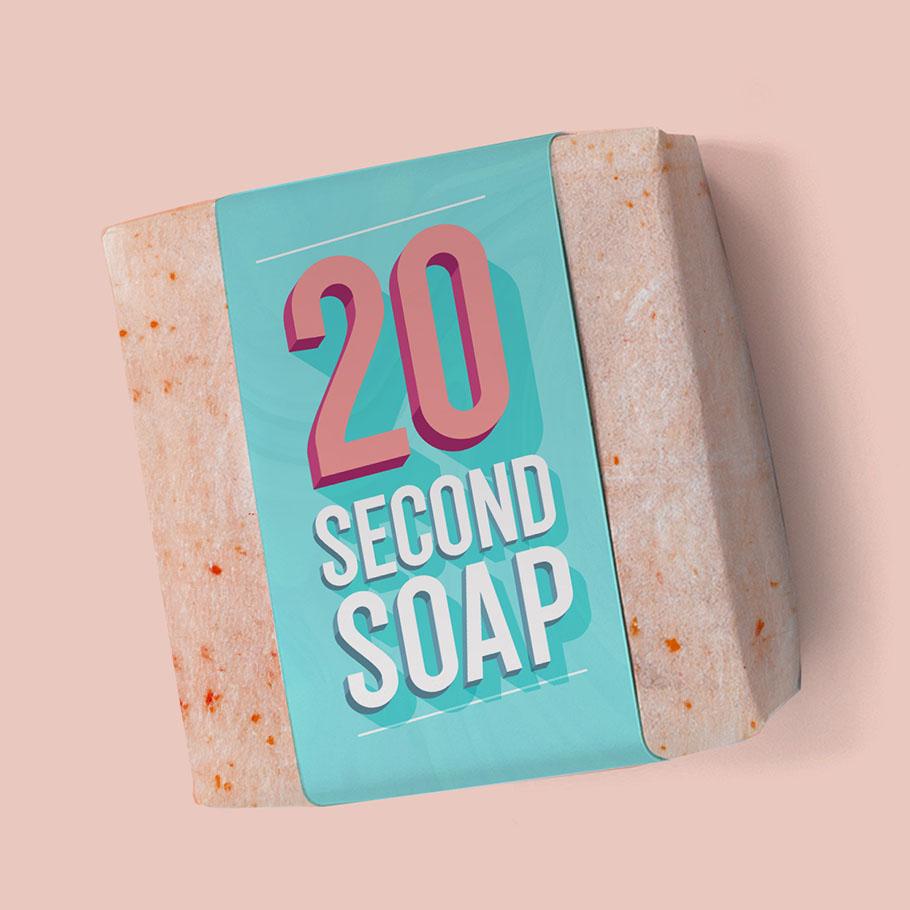 Coronavirus Hates Soap & The 20-Second Rule