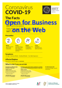 Open for Business –  During Level 5 Lockdown